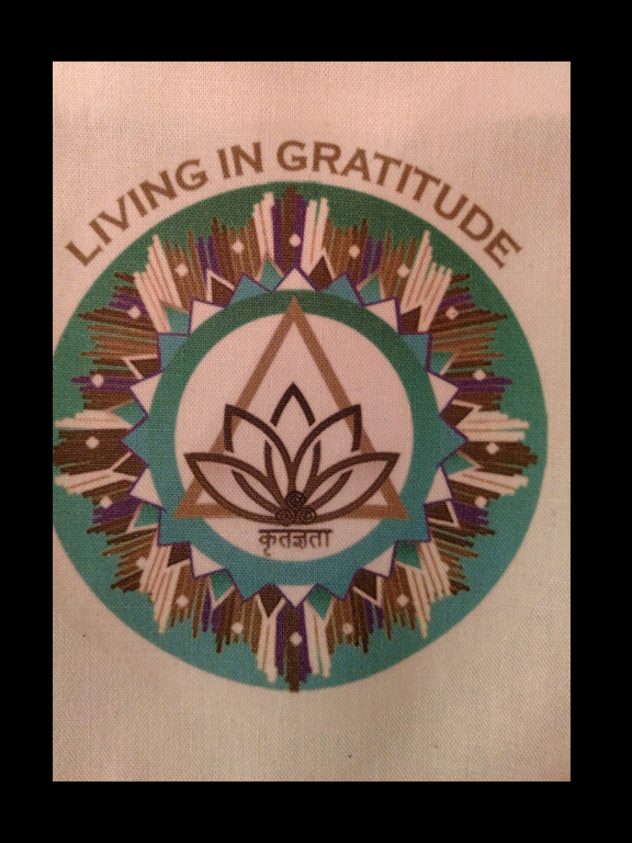 Living In Gratitude Wall Hanging