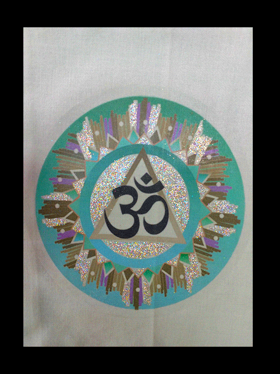 Om Symbol Cloth Wall Hanging