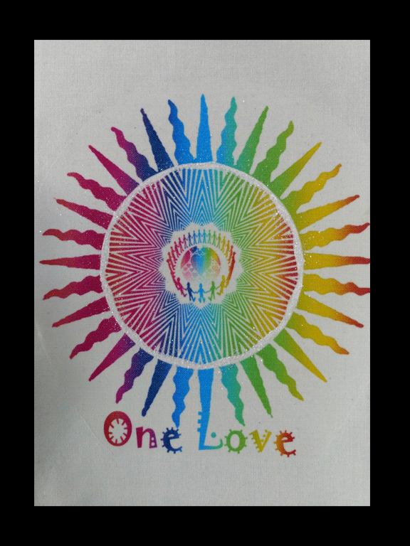 One Love Wall Hanging