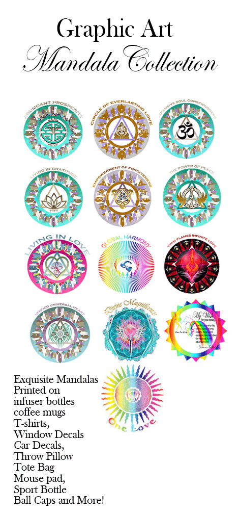 Graphic Designs Healing Mandala Collection