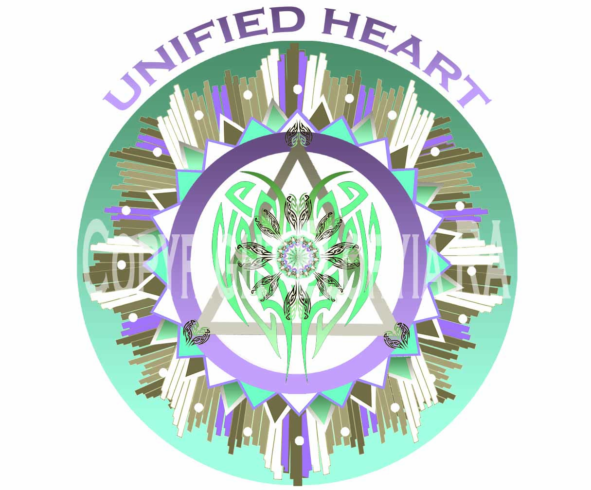 Unified Universal Heart Window Decal
