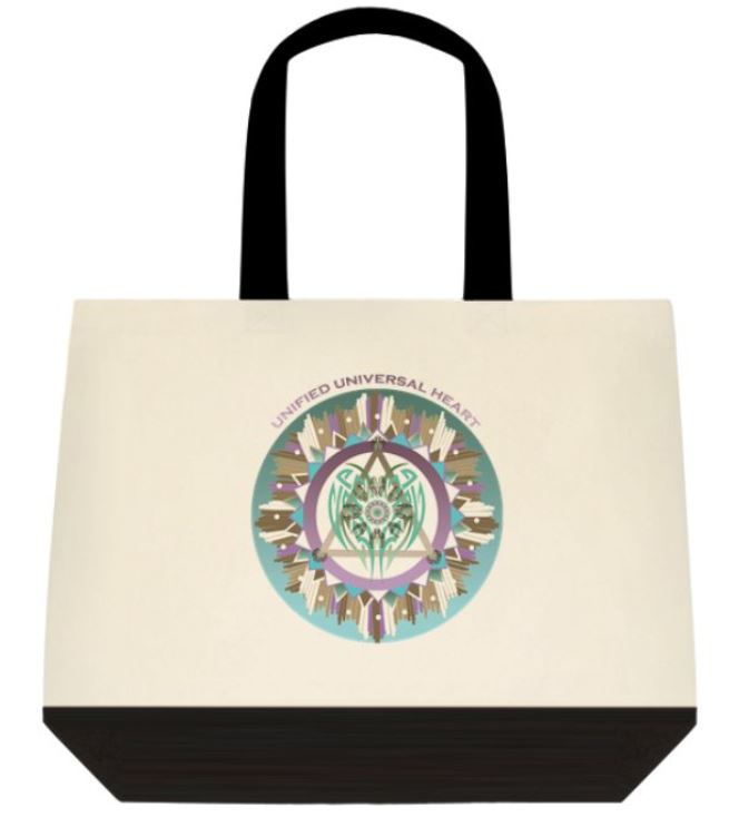 Unified Universal Heart Tote Bag